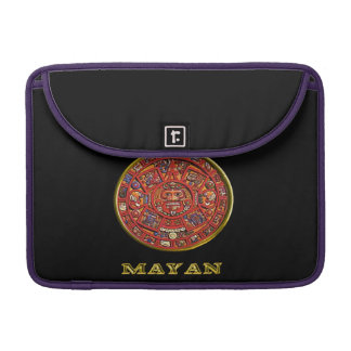 Mayan Indian art Sleeve For MacBook Pro