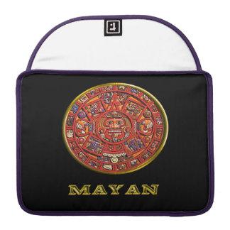 Mayan Indian art Sleeve For MacBook Pro