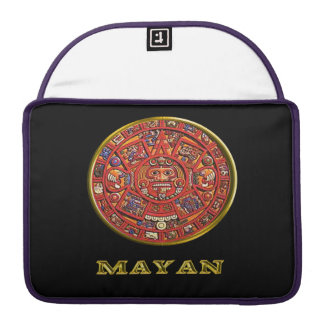 Mayan Indian art Sleeve For MacBooks