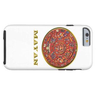 Mayan Indian art Tough iPhone 6 Case