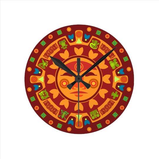 Mayan Inspired Clock