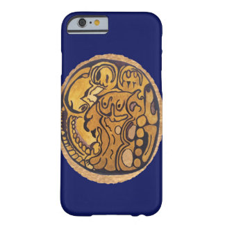 MAYAN JAGUAR COIN DARK BLUE BARELY THERE iPhone 6 CASE