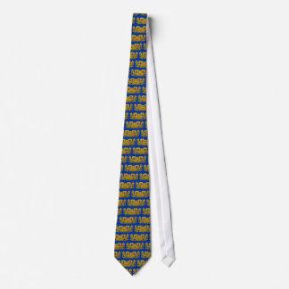 Mayan Jaguar - Gold Neck Tie