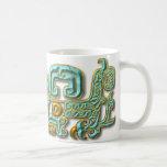 Mayan Jaguar-Turquoise Classic White Coffee Mug
