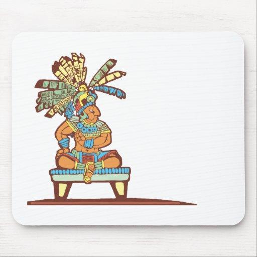 Mayan King Mouse Pad