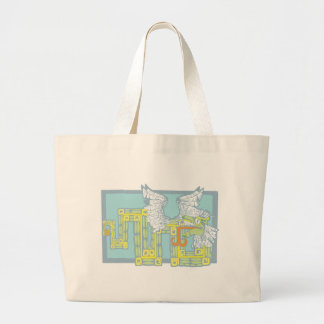 Mayan Kukulcan Canvas Bags