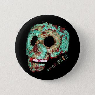 Mayan Mask-2012 Button