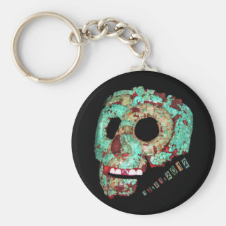 Mayan Mask-2012 Key Chain