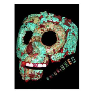 Mayan Mask-2012 Postcard