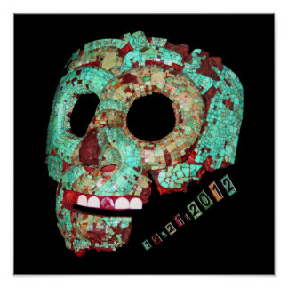 Mayan Mask-2012 Poster