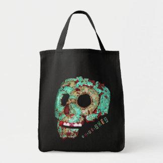 Mayan Mask-2012 Tote Bags