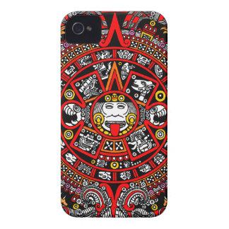 Mayan Maya Ancient Calendar (Variation) Case-Mate iPhone 4 Cases