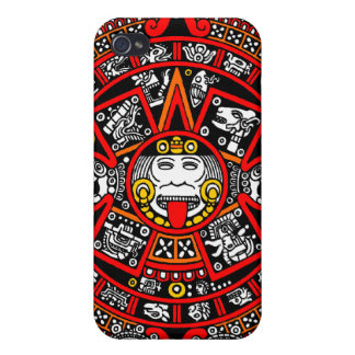 Mayan Maya Ancient Calendar (Variation) iPhone 4/4S Covers