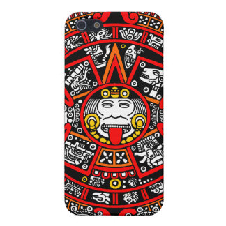 Mayan Maya Ancient Calendar (Variation) Case For iPhone 5
