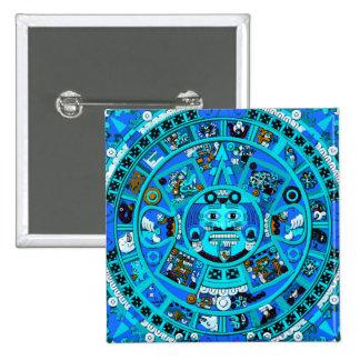 Mayan Maya Aztec Doomsday Symbol ~ Pinback Button