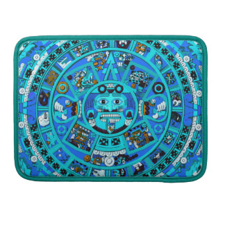 Mayan Maya Aztec Doomsday Symbol ~ MacBook Pro Sleeves