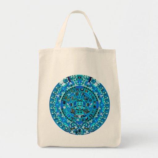 Mayan Maya Aztec Doomsday Symbol ~ Tote Bag
