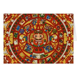 Mayan Maya Aztec Symbol - Customizable Card!