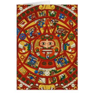 Mayan Maya Aztec Symbol - Customizable Card! Card