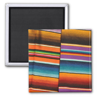 Mayan Mexican Colorful Blankets Magnet