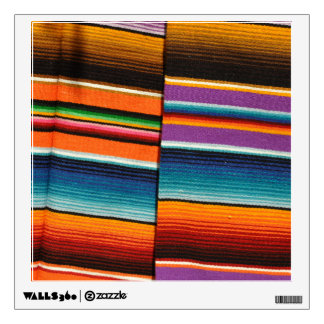 Mayan Mexican Colorful Blankets Wall Decal