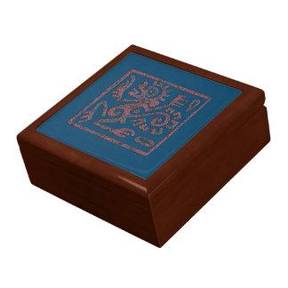 Mayan Monkey Image 2 Gift Box