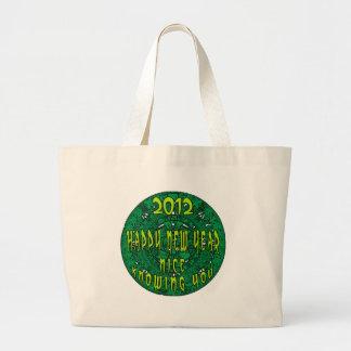 Mayan New Year Tote Bags