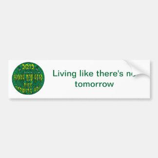 Mayan New Year Bumper Sticker