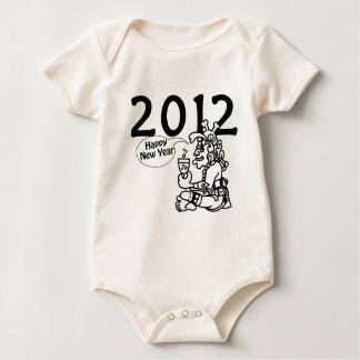 Mayan new years 2012 baby bodysuit