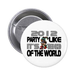 Mayan New Years 2012 Button