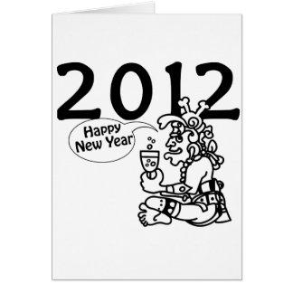Mayan new years 2012 card