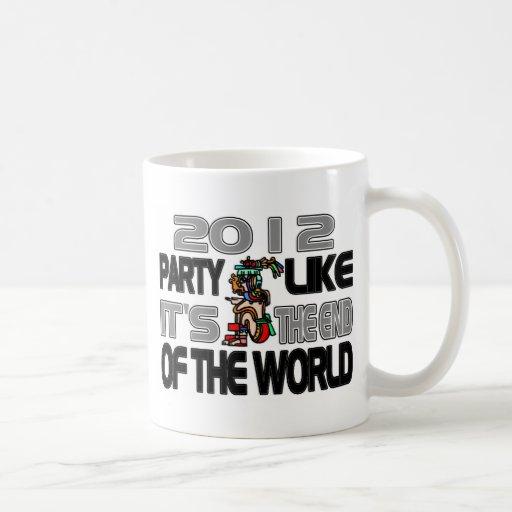 Mayan New Years 2012 Coffee Mug