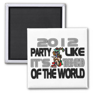 Mayan New Years 2012 Magnet