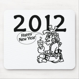Mayan new years 2012 mouse pad