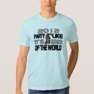Mayan New Years 2012 Tee Shirt