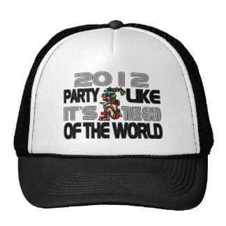 Mayan New Years 2012 Trucker Hat