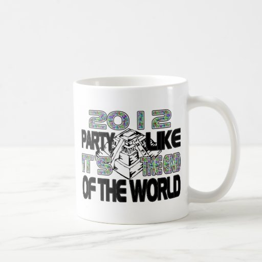 Mayan New Years Pyramid 2012 Classic White Coffee Mug