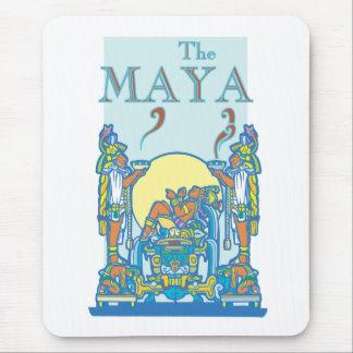Mayan Poster 3 Mouse Pad