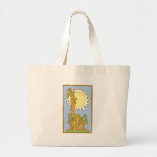 Mayan Poster 8 Jumbo Tote Bag