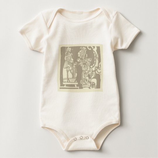 Mayan Priest and Vision Serpent Baby Bodysuit