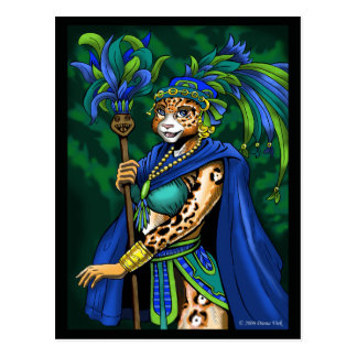 Mayan Priestess Postcard