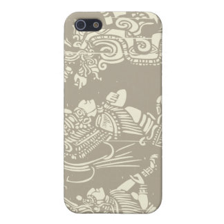 Mayan priests and Vision Serpent iPhone 5 Cover