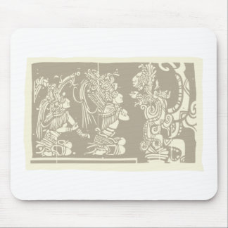 Mayan priests and Vision Serpent Mouse Pad