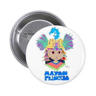Mayan Princess Buttons