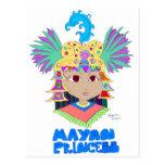 Mayan Princess Postcard