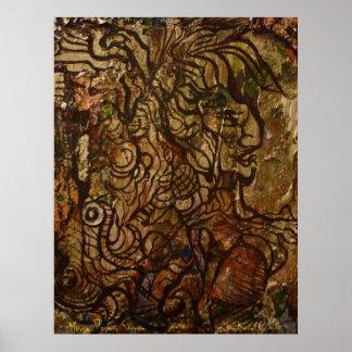 Mayan Prophecy Shaman Print