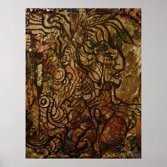Mayan Prophecy Shaman Poster