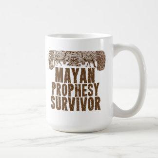 Mayan Prophesy Survivor Mug Basic White Mug