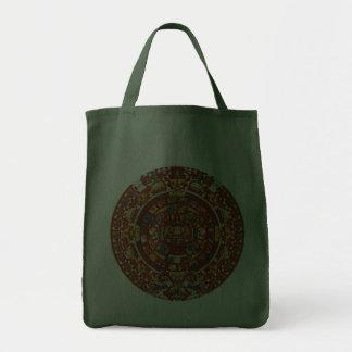 Mayan Prophetic Design Tote Bag