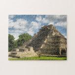 "Mayan Pyramid Jigsaw Puzzle<br><div class=""desc"">A Mayan pyramid deep in the jungle of the Yucatan Peninsula.</div>"